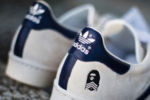 搶先看!BAPE x adidas 低調奢華的聯名系列!