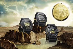 第四波G-SHOCK 35周年紀念錶款 「ORIGIN GOLD」系列 榮耀的金色設計象徵G-SHOCK 35年來的光輝歲月