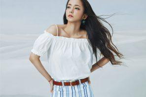 她 40 歲?!安室奈美惠 X H&M 逆天形象美圖與形象影片搶先曝光!