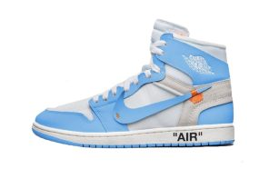 "Virgil Abloh x Air Jordan 1 ""北卡藍"" 配色販售訊息"