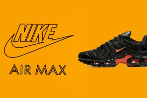 VLONE 魂不死!Nike Air Max Plus 黑橘延燒