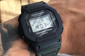 六叔不戴 Rolex 改戴 G-Shock!Madness x G-Shock 最新聯名曝光