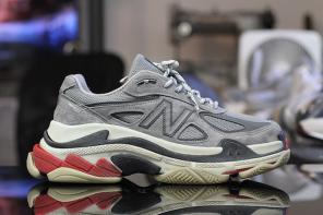 總統級慢跑鞋 New Balance 990 聯名巴黎世家「老爹鞋」?!