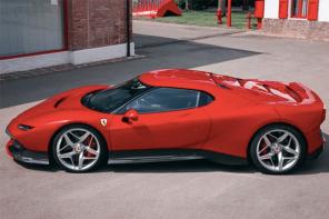 何方神聖?全球僅生產「1」輛,法拉利發表全新超跑 SP38