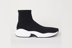 H&M 最新鞋款又跟巴黎世家撞鞋!但價格不到巴黎世家的十分之一?!